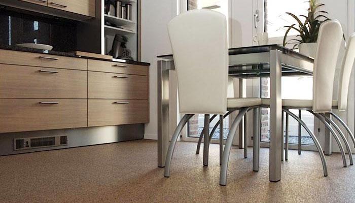 Resin Kitchen Floor